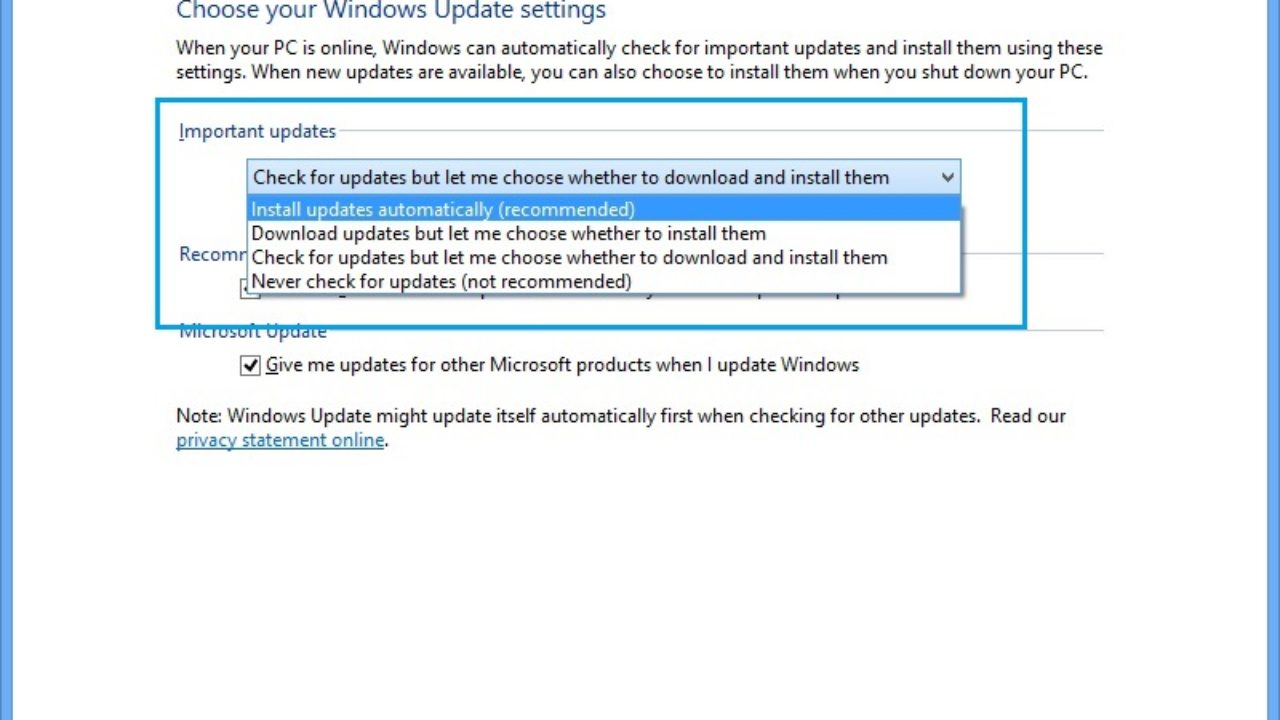 How to install and uninstall updates in Windows 8 - Windows