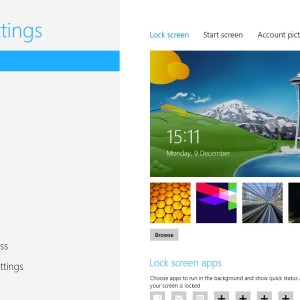 PC Settings In Windows 8